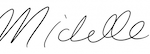 Michelle McClintock Signature